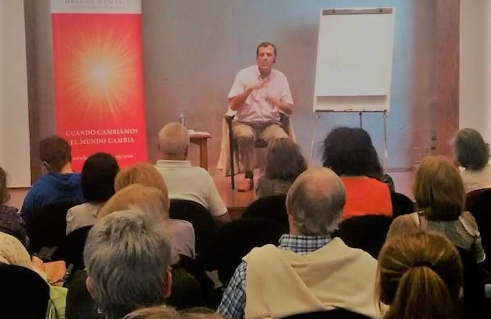 """Going Beyond the Limited Beliefs"" seminar by Brahma Kumaris Madrid, Spain"
