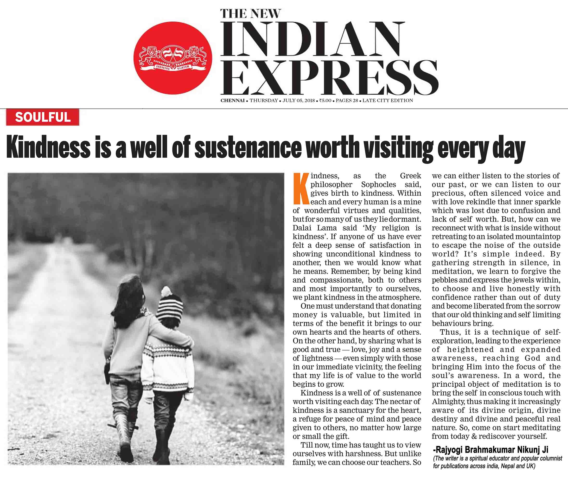 The New Indian Express 05. July 2018