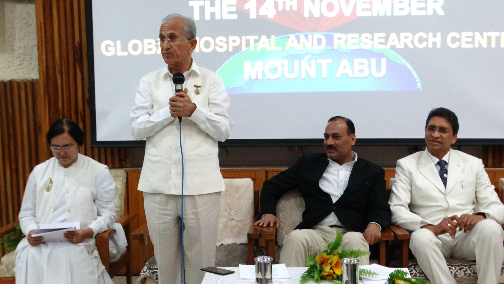 Mount Abu(Rajasthan) : Programme on World Diabetes Day at Global Hospital