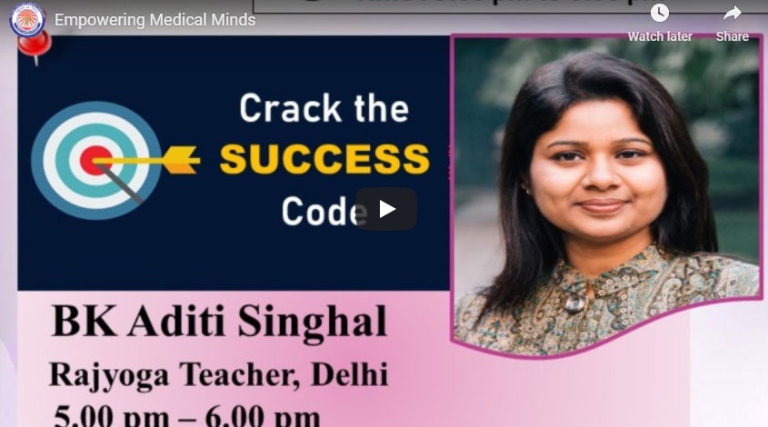LIVE 17-10-2020, 5:00 pm Empowering Medical- Minds Aditi Singhal
