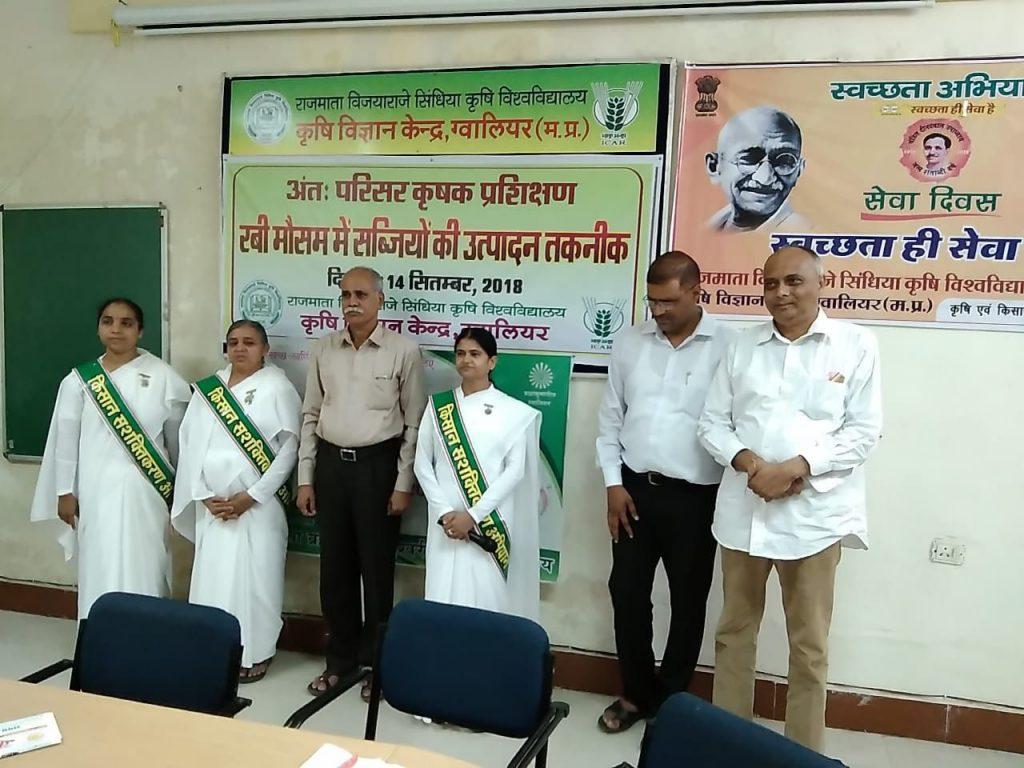 मध्यप्रदेश किसान सशक्तिकरण अभियान 5 दिन के लिए ग्वालियर जिले में